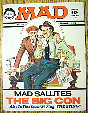 Mad Magazine #171 December 1974 The Big Con (Image1)