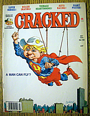 Cracked Magazine #160 July 1979 Superman