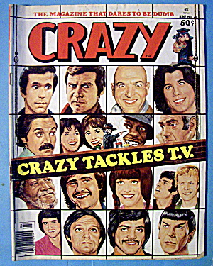 Crazy Magazine #26 June 1977 Crazy Tackles Tv