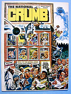 National Crumb Magazine August 1975 Crumb Of Month