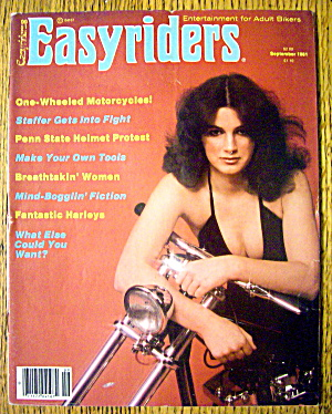 Easyriders Magazine September 1981 Fantastic Harleys