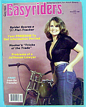 Easyriders Magazine December 1981 Jailhouse Lawyer