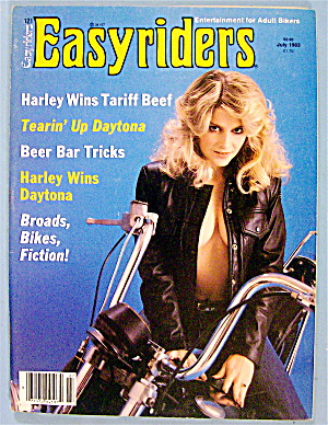 Easyriders Magazine July 1983 Beer Bar Tricks