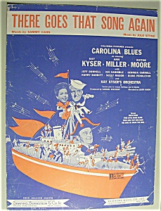 Sheet Music For 1944 There Goes That Song Again