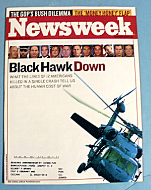 Newsweek Magazine February 5, 2007 Black Hawk Down