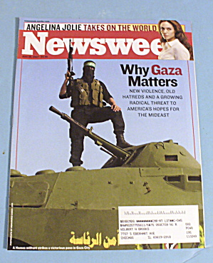Newsweek Magazine June 25, 2007 Why Gaza Matters
