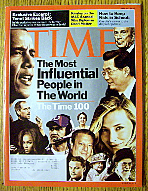 Time Magazine May 14, 2007 Most Influential People