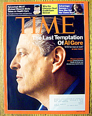 Time Magazine May 28, 2007 Last Temptation Of Al Gore