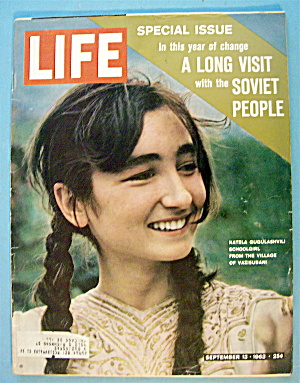 Life Magazine September 13, 1963 Soviet People (Image1)