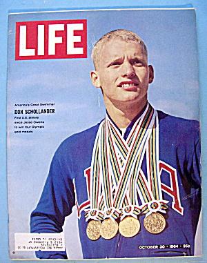 Life Magazine October 30, 1964 Don Schollander-Swimmer (Image1)