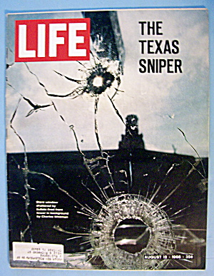 Life Magazine August 12, 1966 The Texas Sniper