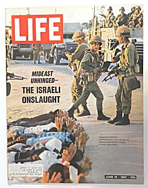 Life Magazine June 16, 1967 The Israeli Onslaught (Image1)