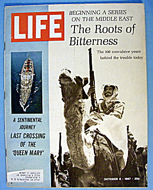 Life Magazine October 6, 1967 The Roots Of Bitterness