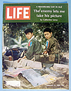 Life Magazine February 16, 1968 N. Vietnamese Soldiers
