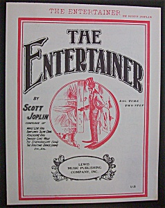 Sheet Music For 1972 The Entertainer