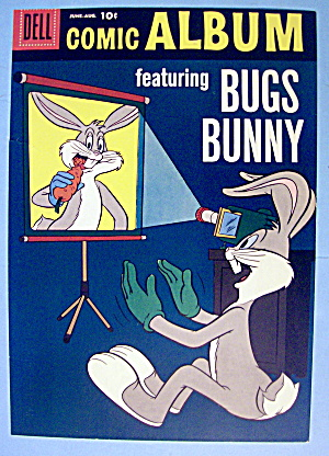 Bugs Bunny Comic Cover #2 June-august 1958