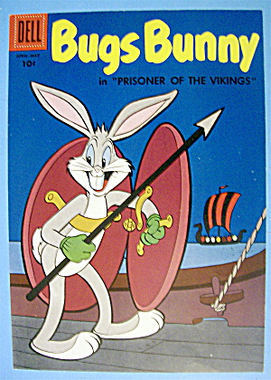 Bugs Bunny Comic Cover #60-april-may 1958