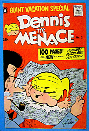 Dennis The Menace Comic Cover #2 1956