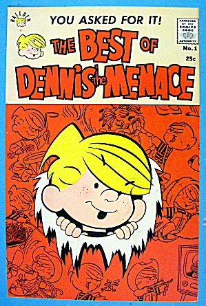 Best of Dennis the Menace Comic Cover #1 1959 (Image1)