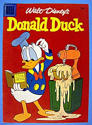 Donald Duck Comic Cover January 1950's Donald & Mixer