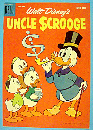 Uncle Scrooge Comic Cover September-november 1959