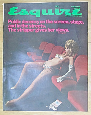 Esquire  Magazine August 1969 Public Decency  (Image1)