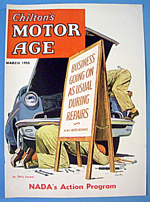 Motor Age Magazine Cover-march 1955-hook