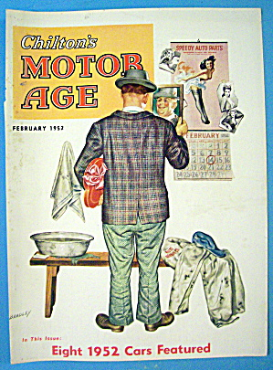 Motor Age Magazine Cover-february 1952-bradley