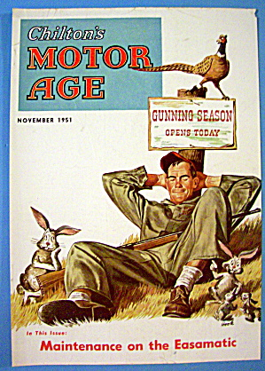 Motor Age Magazine Cover-november 1951-hook