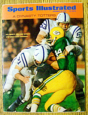 Sports Illustrated December 16, 1968 Volk & Gaubatz