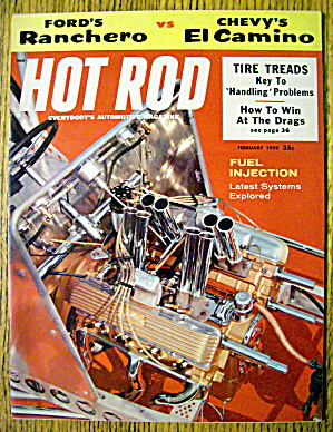 Hot Rod Magazine February 1959 How To Win At The Drags