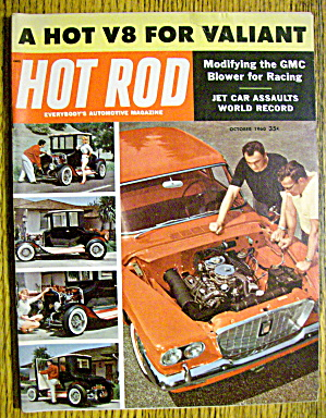 Hot Rod Magazine October 1960 Jet Car