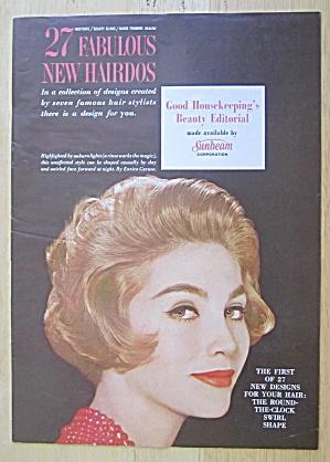 1961 Good Housekeeping Beauty Editorial  27 Hairdos (Image1)