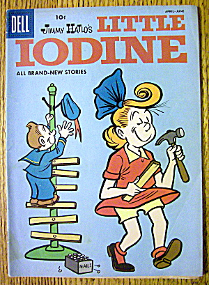 Little Iodine Comic #40 April-June 1958 Little Iodine (Image1)