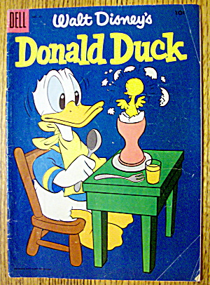 Walt Disney's Donald Duck Comic #41 May-June 1955 (Image1)