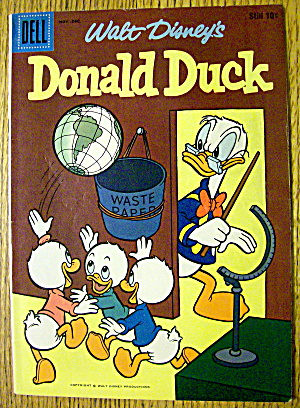 Walt Disney's Donald Duck Comic #62 November 1958 (Image1)