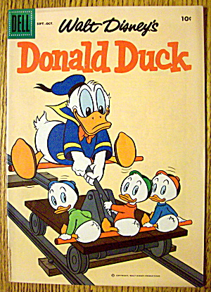 Walt Disney's Donald Duck Comic #61 September 1958 (Image1)