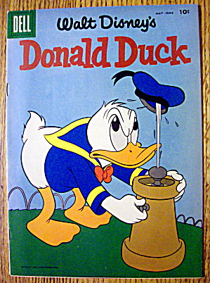 Walt Disney's Donald Duck Comic #59 May-june 1958