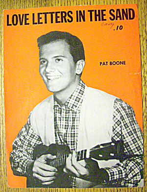 1931 Love Letters In The Sand By Pat Boone