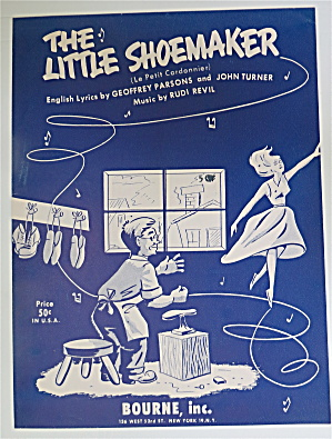 1954 The Little Shoemaker By Parsons & Turner