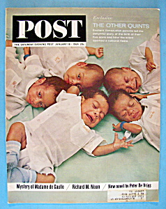 Saturday Evening Post Magazine - January 18, 1964