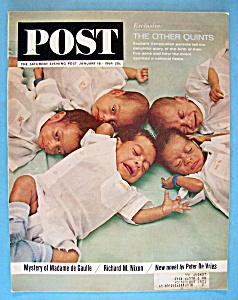 Saturday Evening Post Magazine - January 18, 1964 (Image1)