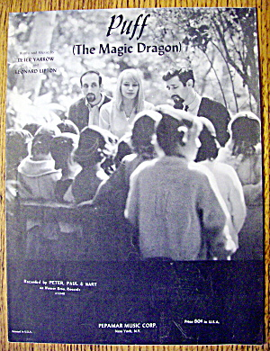 1963 Puff The Magic Dragon (Peter, Paul & Mary)