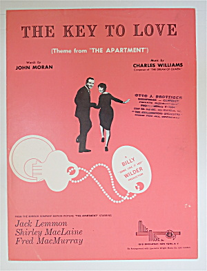 1960 The Key To Love By Moran & Williams