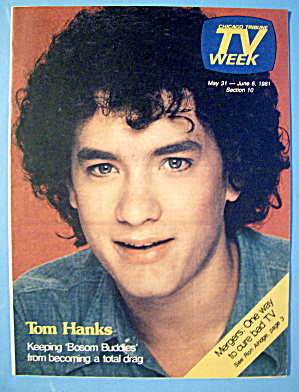 Tv Week May 31-june 6, 1981 Tom Hanks
