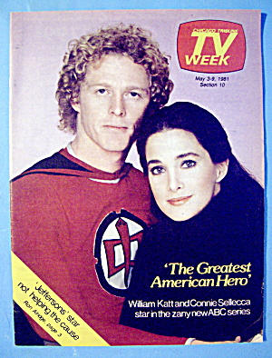 Tv Week May 3-9, 1981 The Greatest American Hero