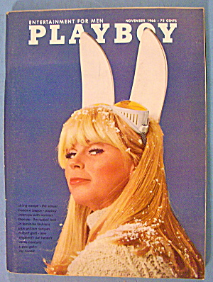Playboy Magazine-november 1966-lisa Baker