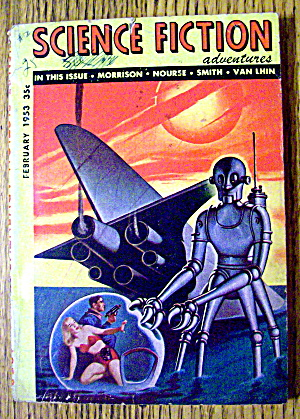 Science Fiction Adventures Magazine February 1953 (Image1)