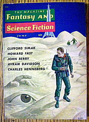 Fantasy And Science Fiction Magazine June 1960