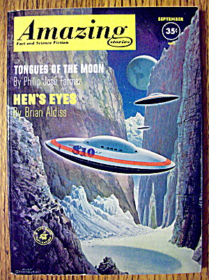 Amazing Stories Magazine September 1961 Hen's Eyes